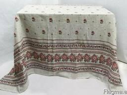 Скатерти. полотенца в украинском стиле, лён-рогожка - фото 3