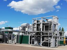 Fast pyrolysis plant FPP 02 for disposal sewage sludge