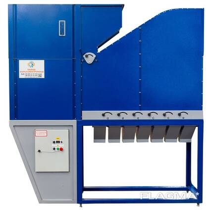 Grain Cleaning Aerodynamic Separator