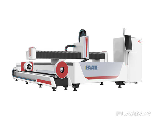 Metal cutting fiber laser machine