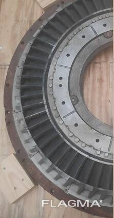 Spare parts and components for steam turbines and thermal power plants